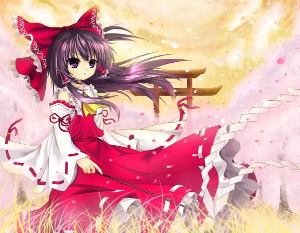 Tags: Anime, Cloudy.R, Touhou, Hakurei Reimu, Reimu Hakurei