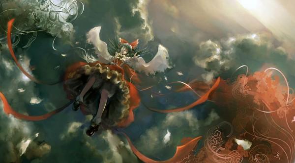 Tags: Anime, Archlich, Touhou, Hakurei Reimu, Facebook Cover, Reimu Hakurei