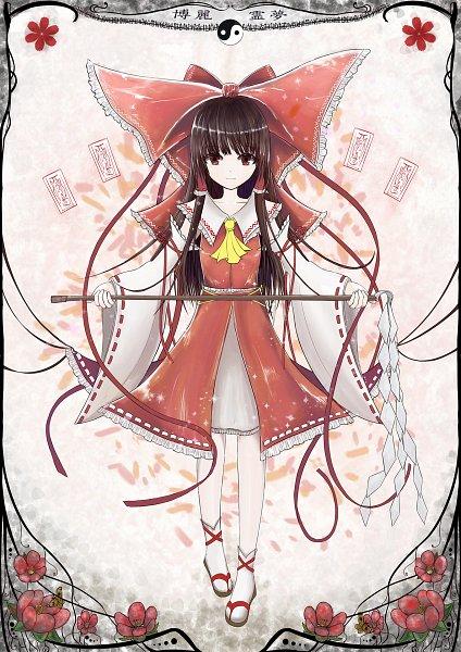 Tags: Anime, Pixiv Id 5641365, Touhou, Hakurei Reimu, Fanart, Fanart From Pixiv, Pixiv, Reimu Hakurei
