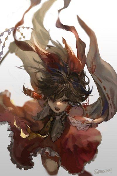 Tags: Anime, Pixiv Id 3879166, Touhou, Hakurei Reimu, Pixiv, Fanart, Fanart From Pixiv, Reimu Hakurei