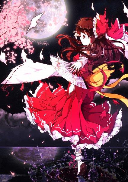 Tags: Anime, Pixiv Id 3063846, Touhou, Hakurei Reimu, Reimu Hakurei