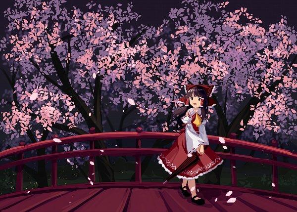 Tags: Anime, Pixiv Id 4158005, Touhou, Hakurei Reimu, Reimu Hakurei