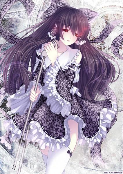 Tags: Anime, Caidychen, Touhou, Hakurei Reimu, Mobile Wallpaper, Fanart, Pixiv, Reimu Hakurei