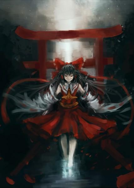 Tags: Anime, Makai no Juumin, Touhou, Hakurei Reimu, Reimu Hakurei