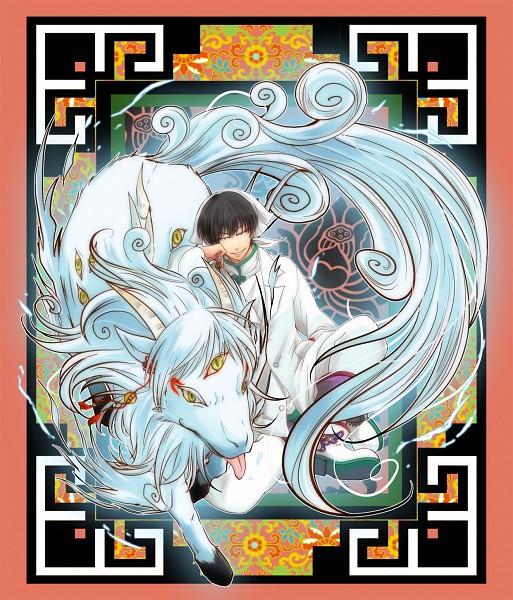 Tags: Anime, Nekopan, Hoozuki no Reitetsu, Hakutaku (Creature Form), Hakutaku (Hoozuki no Reitetsu), Hakutaku, Pixiv, Fanart