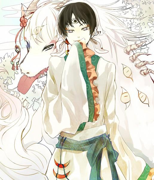 Tags: Anime, Pixiv Id 1086122, Hoozuki no Reitetsu, Hakutaku (Creature Form), Hakutaku (Hoozuki no Reitetsu), Hakutaku, Fanart From Pixiv, Pixiv, Fanart