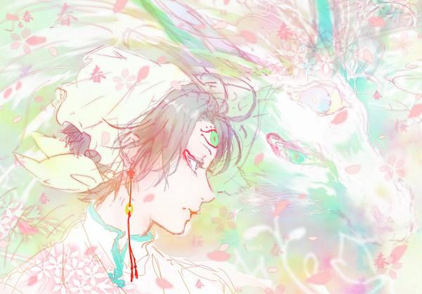 Tags: Anime, Pixiv Id 1073516, Hoozuki no Reitetsu, Hakutaku (Hoozuki no Reitetsu), Hakutaku (Creature Form), Hakutaku, Pixiv, Fanart, Fanart From Pixiv