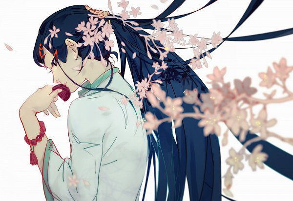 Tags: Anime, Pixiv Id 4056642, Hoozuki no Reitetsu, Hakutaku (Hoozuki no Reitetsu), Pixiv, Fanart, Fanart From Pixiv