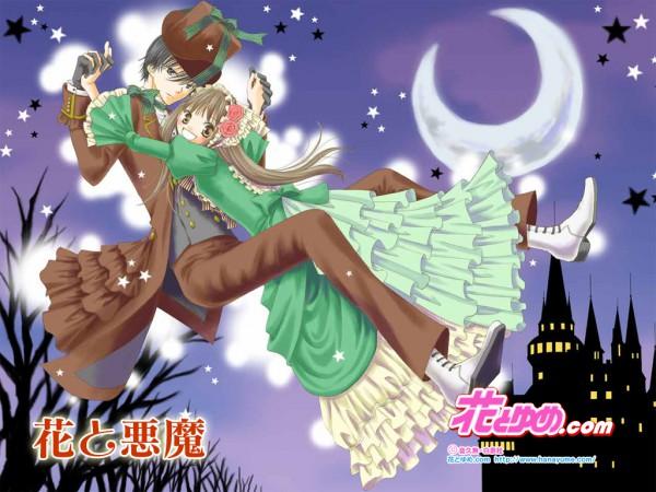 Tags: Anime, Hisamu Oto, Hana to Akuma, Hana (Hana to Akuma), Vivi (Hana to Akuma), Hana to Yume (Source), Wallpaper