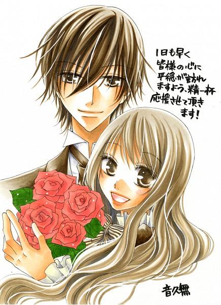 Tags: Anime, Hisamu Oto, Hana to Akuma, Vivi (Hana to Akuma), Hana (Hana to Akuma), Mobile Wallpaper