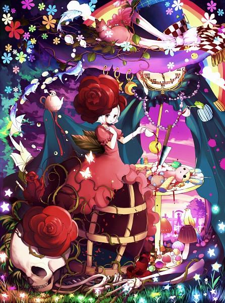 Tags: Anime, Hanada Hyou, Hoop Skirt, Pixiv, Original