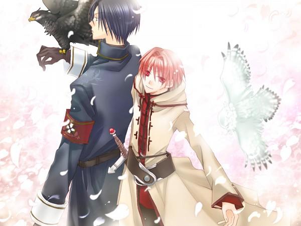 Tags: Anime, HaccaWorks, Hanakisou, Shirofukurou, Kuroto, Hanashiro, Kurotaka, CG Art