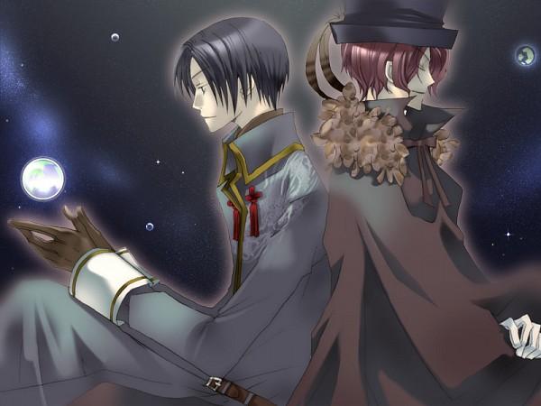 Tags: Anime, HaccaWorks, Hanakisou, Kuroto, Kurotaka, Hat Feather, CG Art