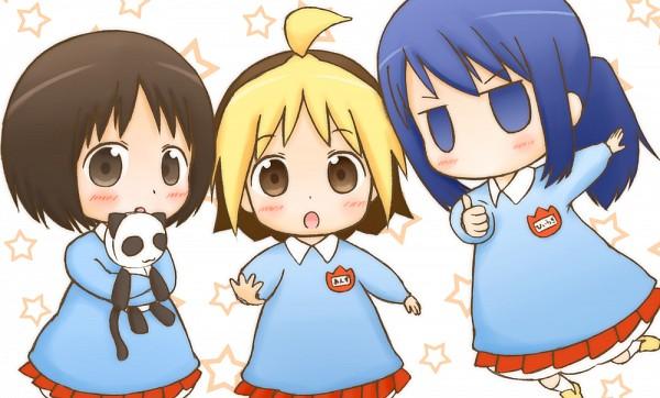 Tags: Anime, Pixiv Id 370946, Hanamaru Kindergarten, Hiiragi (Hanamaru), Koume (Hanamaru), Anzu (Hanamaru), Pixiv, Fanart