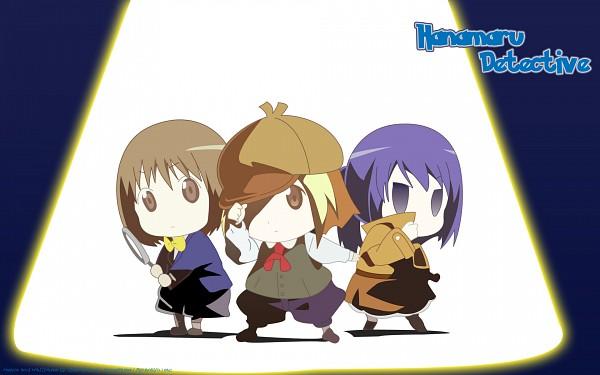 Tags: Anime, Hanamaru Kindergarten, Anzu (Hanamaru), Hiiragi (Hanamaru), Koume (Hanamaru), Artist Request, Wallpaper