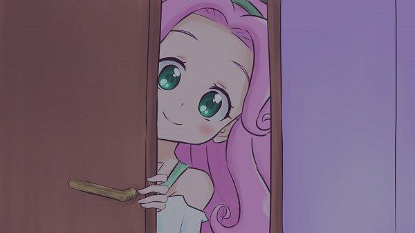 Tags: Anime, Pixiv Id 3565130, Mahou Tsukai Precure!, Haa-chan, Hanami Kotoha, Peaking, Fanart, Fanart From Pixiv, Pixiv
