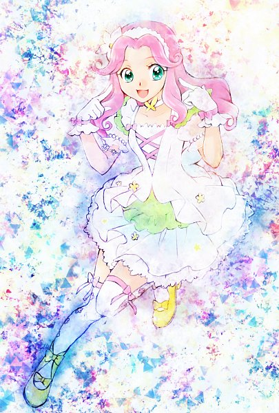 Tags: Anime, Pixiv Id 10336702, Mahou Tsukai Precure!, Haa-chan, Hanami Kotoha, Yellow Footwear, Fanart From Pixiv, Pixiv, Fanart, Twitter