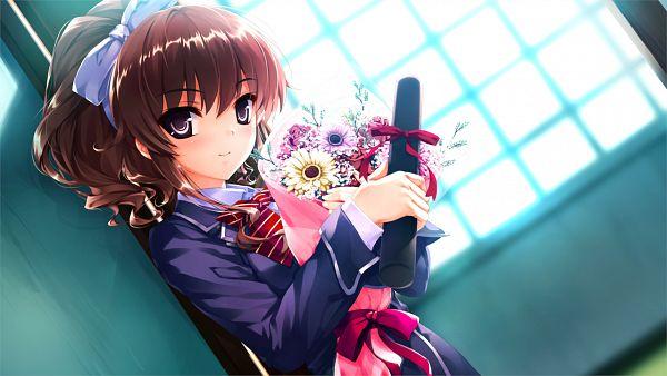 Tags: Anime, Kuroya Shinobu, Cradle, Ushinawareta Mirai wo Motomete, Hanamiya Nagisa, Facebook Cover, Wallpaper, CG Art