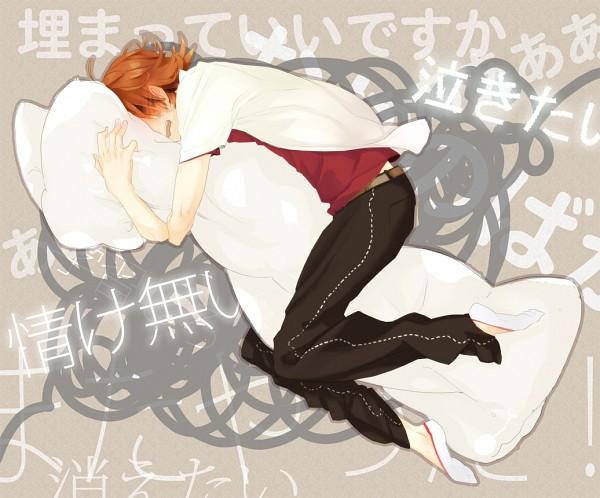 Tags: Anime, 26262626 (Artist), Shin Megami Tensei: PERSONA 4, Hanamura Yousuke, Pixiv, Fanart