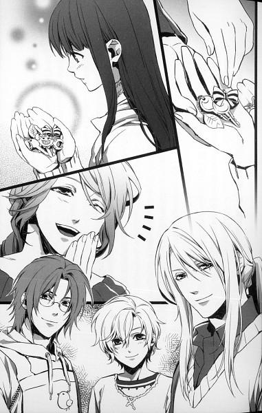 Tags: Anime, Kazuki Yone, Hanaoni, Hayasaki Minaha, Scan, Official Art, Manga Page