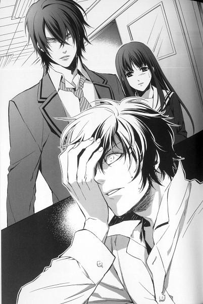 Tags: Anime, Kazuki Yone, Hanaoni, Official Art