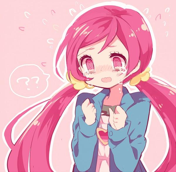 Tags: Anime, Pixiv Id 2150848, Heartcatch Precure!, Hanasaki Tsubomi, Heart Necklace, Pixiv, Fanart, Fanart From Pixiv