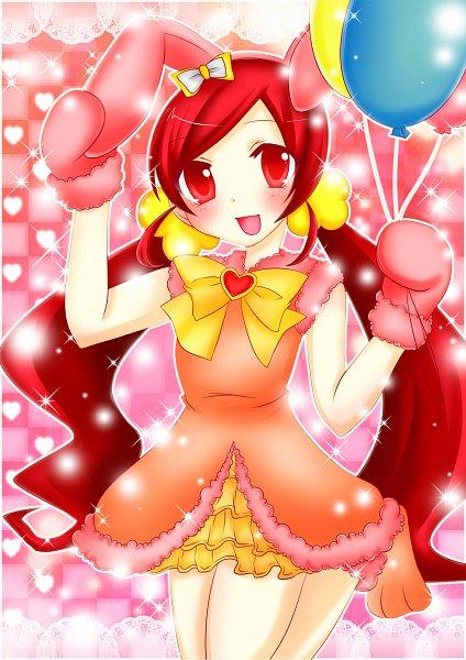 Tags: Anime, Pixiv Id 1091513, Heartcatch Precure!, Hanasaki Tsubomi, Easter, Pixiv, Fanart From Pixiv, Fanart