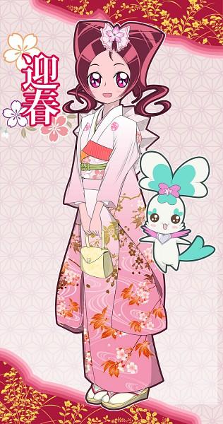 Tags: Anime, Yoshimune, Heartcatch Precure!, Coffret, Hanasaki Tsubomi, Pixiv, Fanart