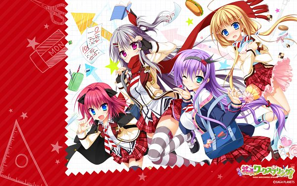 Hanasaki Work Spring - Saga Planets
