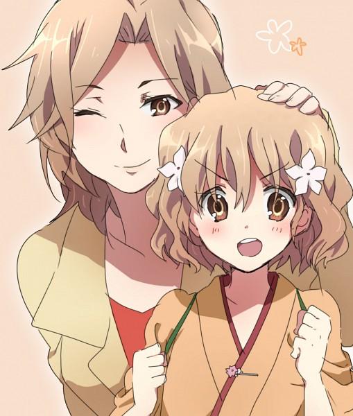 Tags: Anime, Pixiv Id 2524275, Hanasaku Iroha, Matsumae Satsuki, Matsumae Ohana, Pixiv, The Colors Of The Blooming