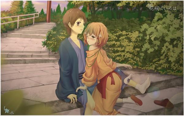Tags: Anime, Pixiv Id 2301725, Hanasaku Iroha, Tanemura Kouichi, Matsumae Ohana, The Colors Of The Blooming