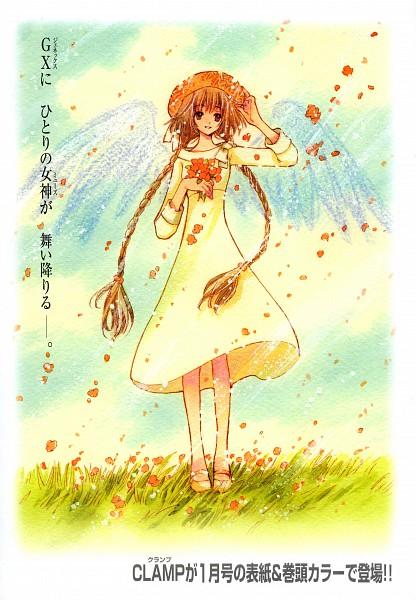 Tags: Anime, CLAMP, Kobato., Hanato Kobato, Scan, Mobile Wallpaper, Official Art