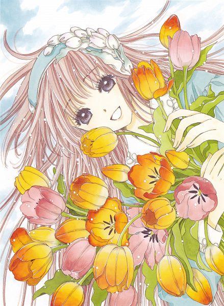 Tags: Anime, CLAMP, Kobato., Kobato. Illustration&Memories, Hanato Kobato, Tulip, Scan, Official Art
