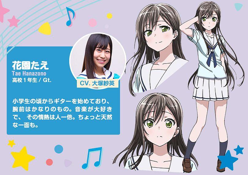 Tags: Anime, Nitta Matsuko, Xebec, ISSEN, BanG Dream!, Hanazono Tae, Official Art