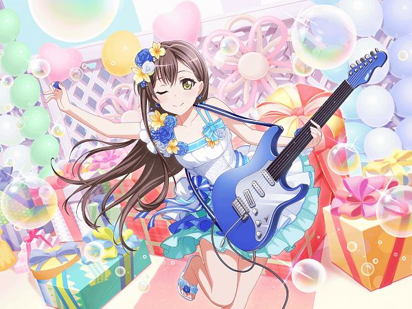 Tags: Anime, Craft Egg, BanG Dream! Girls Band Party!, Hanazono Tae, Official Art, Official Card Illustration