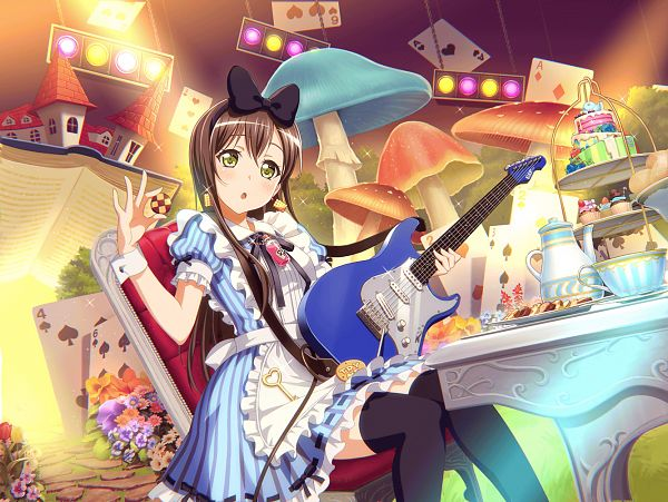 Tags: Anime, Craft Egg, BanG Dream! Girls Band Party!, Hanazono Tae, Official Card Illustration, Official Art