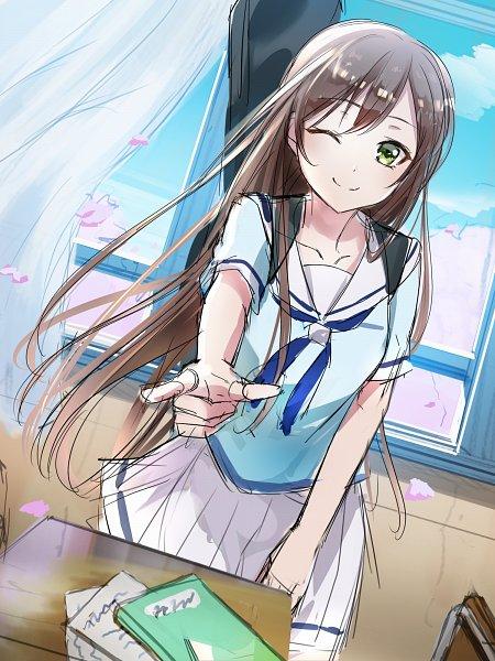 Tags: Anime, Pixiv Id 16701386, BanG Dream! Girls Band Party!, BanG Dream!, Hanazono Tae, Fanart From Pixiv, Pixiv, Fanart