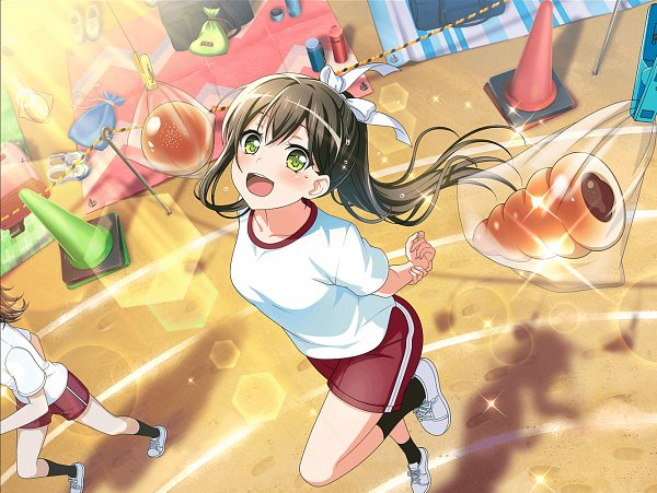 Tags: Anime, Craft Egg, BanG Dream! Girls Band Party!, Hanazono Tae, Chocolate Cornets, Official Card Illustration, Official Art
