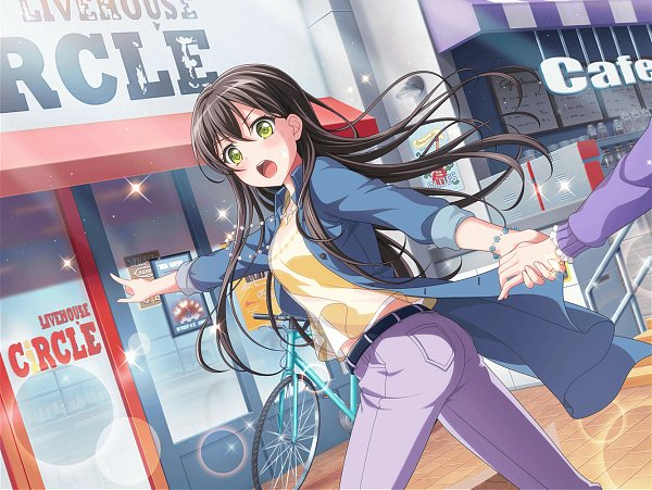 Tags: Anime, Craft Egg, BanG Dream! Girls Band Party!, BanG Dream!, Hanazono Tae, Official Art, Official Card Illustration