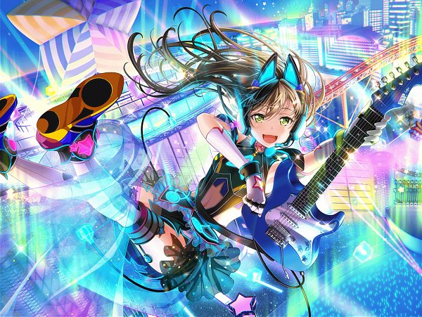 Tags: Anime, Craft Egg, BanG Dream! Girls Band Party!, BanG Dream!, Hanazono Tae, Official Card Illustration, Official Art