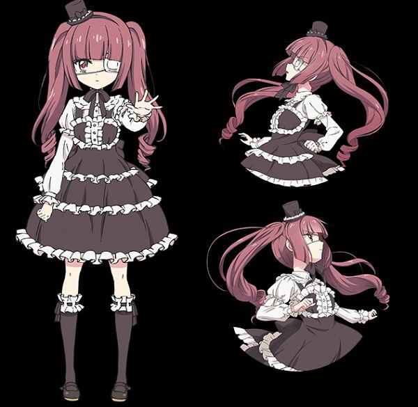 Hanazono Yurine - Jashin-chan Dropkick