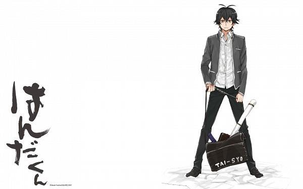 Tags: Anime, Yoshino Satsuki, Barakamon, Handa-kun, Handa Seishuu, Wallpaper, Official Art, Official Wallpaper, Scan