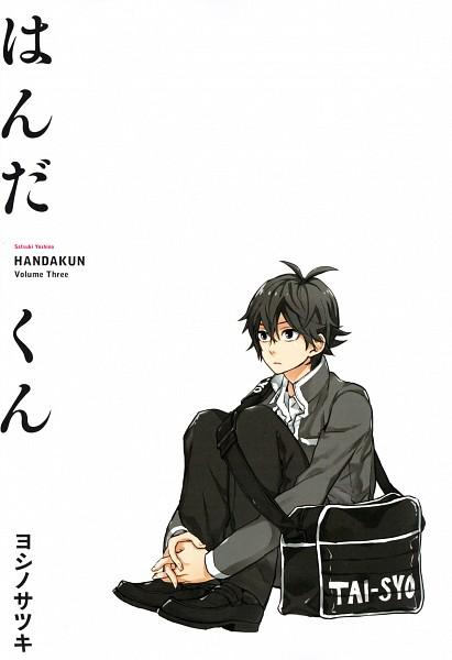 Tags: Anime, Yoshino Satsuki, Barakamon, Handa-kun, Handa Seishuu, Mobile Wallpaper, Official Art