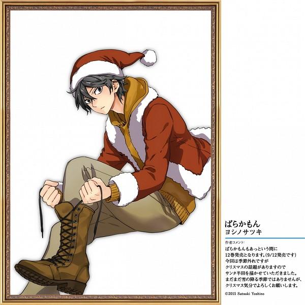 Tags: Anime, Yoshino Satsuki, Barakamon, Handa Seishuu, Official Art