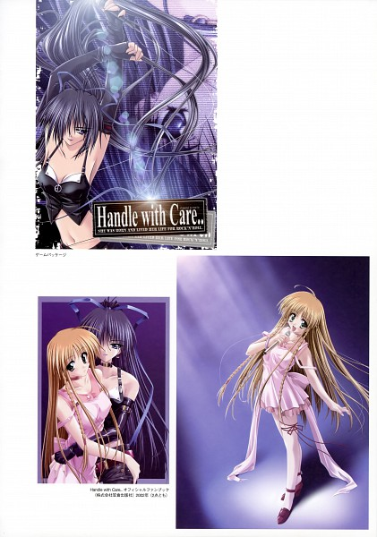 Tags: Anime, Amane Hibiki, Handle With Care, Official Art