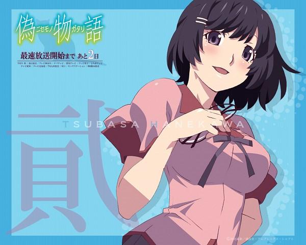Tags: Anime, Shaft (Studio), Monogatari, Hanekawa Tsubasa, Official Art
