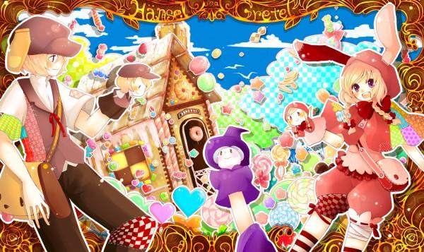 Tags: Anime, Hansel and Gretel, Hansel, Gretel, Gingerbread House