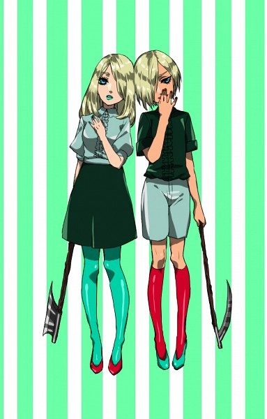 Tags: Anime, Pixiv Id 1363097, Hansel and Gretel, Hansel, Gretel, Fanart From Pixiv, Pixiv, Fanart
