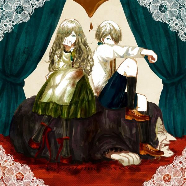 Tags: Anime, Escla, Hansel and Gretel, Gretel, Hansel, Pixiv, Fanart From Pixiv, Fanart