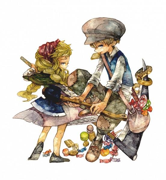 Tags: Anime, Ina Gonsora, Hansel and Gretel, Gretel, Hansel